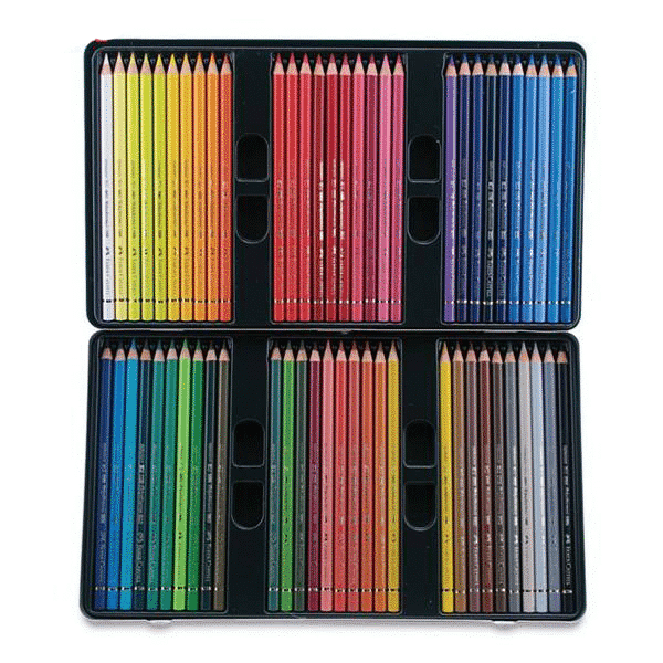 پلی کروم 60 رنگ جعبه فلزی فابرکاستل