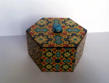 چوبی شش ضلعی 6 سانت 5