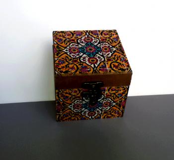 جعبه چوبی دور چاپ 9*9 گندمستان