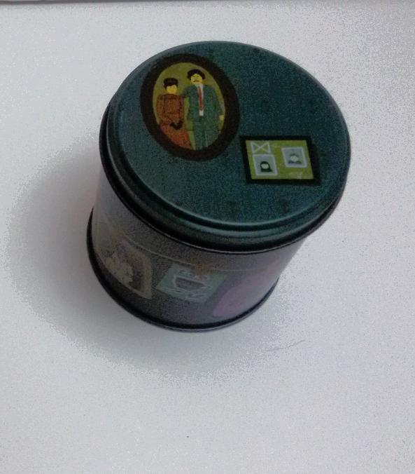 باکس هدیه فلزی دایره سایز 9 کد 2031009006
