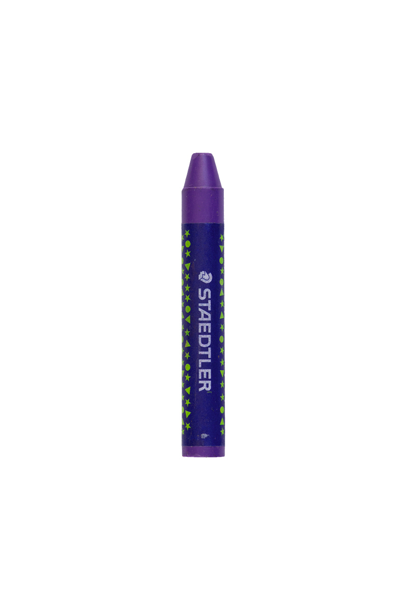 مداد شمعی بنفش رنگ استدلر کد 6-2240