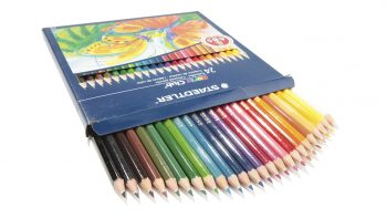 مداد رنگی استدلر 24 رنگ مدل Noris Club کد 144