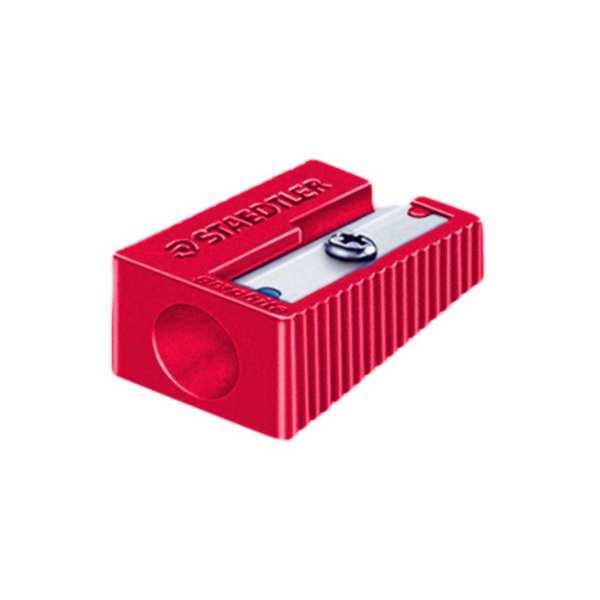تراش پلاستیکی تک سوراخ قرمز رنگ استدلر51050