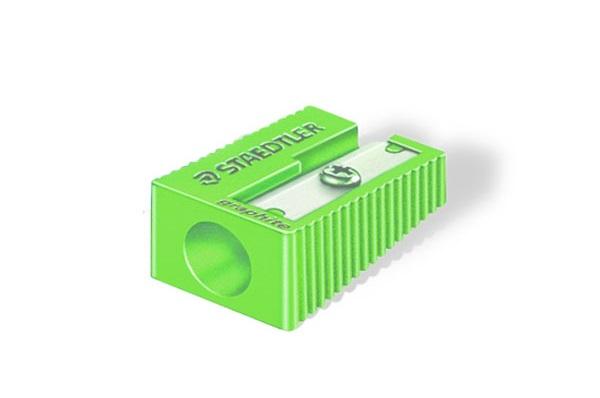 تراش پلاستیکی تک سوراخ سبز رنگ استدلر51050