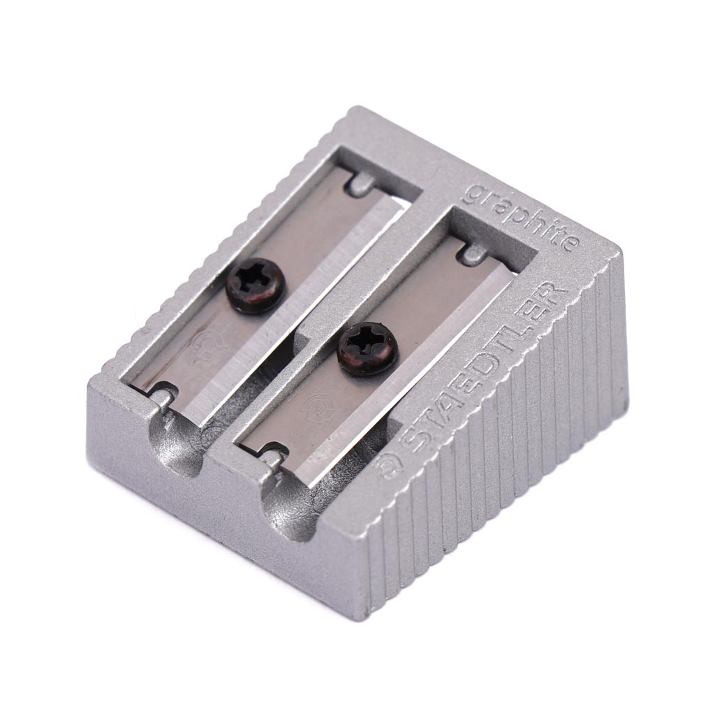 تراش فلزی دو قلو نقره ای استدلر کد 51020