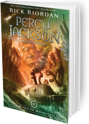 THE SEA OF MONSTERS-PERCY JACKSON AND THE OLYMPIANS(II)