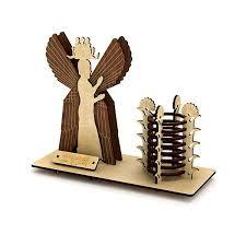 پازل سه بعدی چوبی مدل فرشته برند پارس