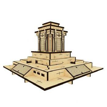 پازل چوبی سه بعدی آرامگاه فردوسی برند پارس کد 51WM200