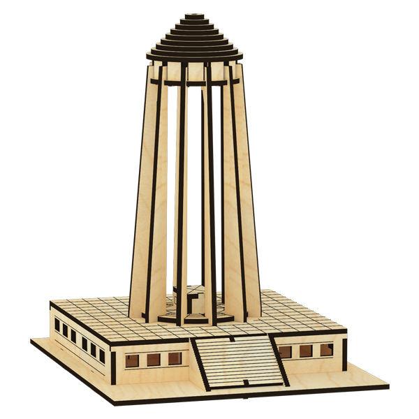 پازل چوبی سه بعدی آرامگاه ابوعلی سینا