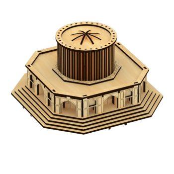 پازل چوبی کاخ خورشید