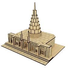 پازل چوبی سه بعدی مقبره دانیال نبی برند پارس کد 69WE110
