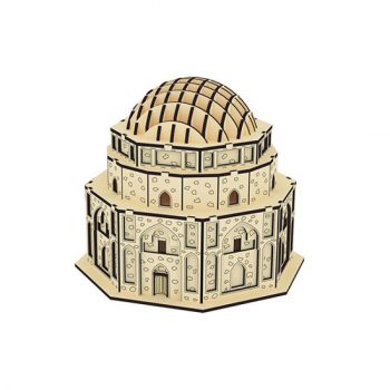 پازل چوبی سه بعدی گنبد جبلیه برند پارس کد 54WE100