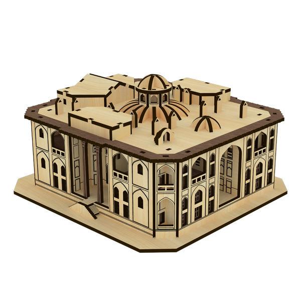 پازل چوبی سه بعدی کاخ هشت بهشت برند پارس کد 65WM200