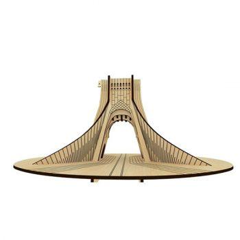 پازل چوبی سه بعدی برج آزادی برند پارس کد 62WE350