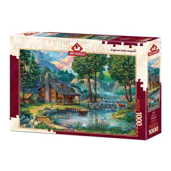 پازل 1000 تکه آرت پازل طرح Fairytale House کد 4223