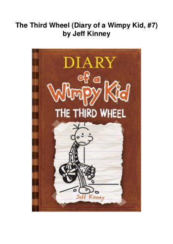 DIARY of a Wimpy Kid66