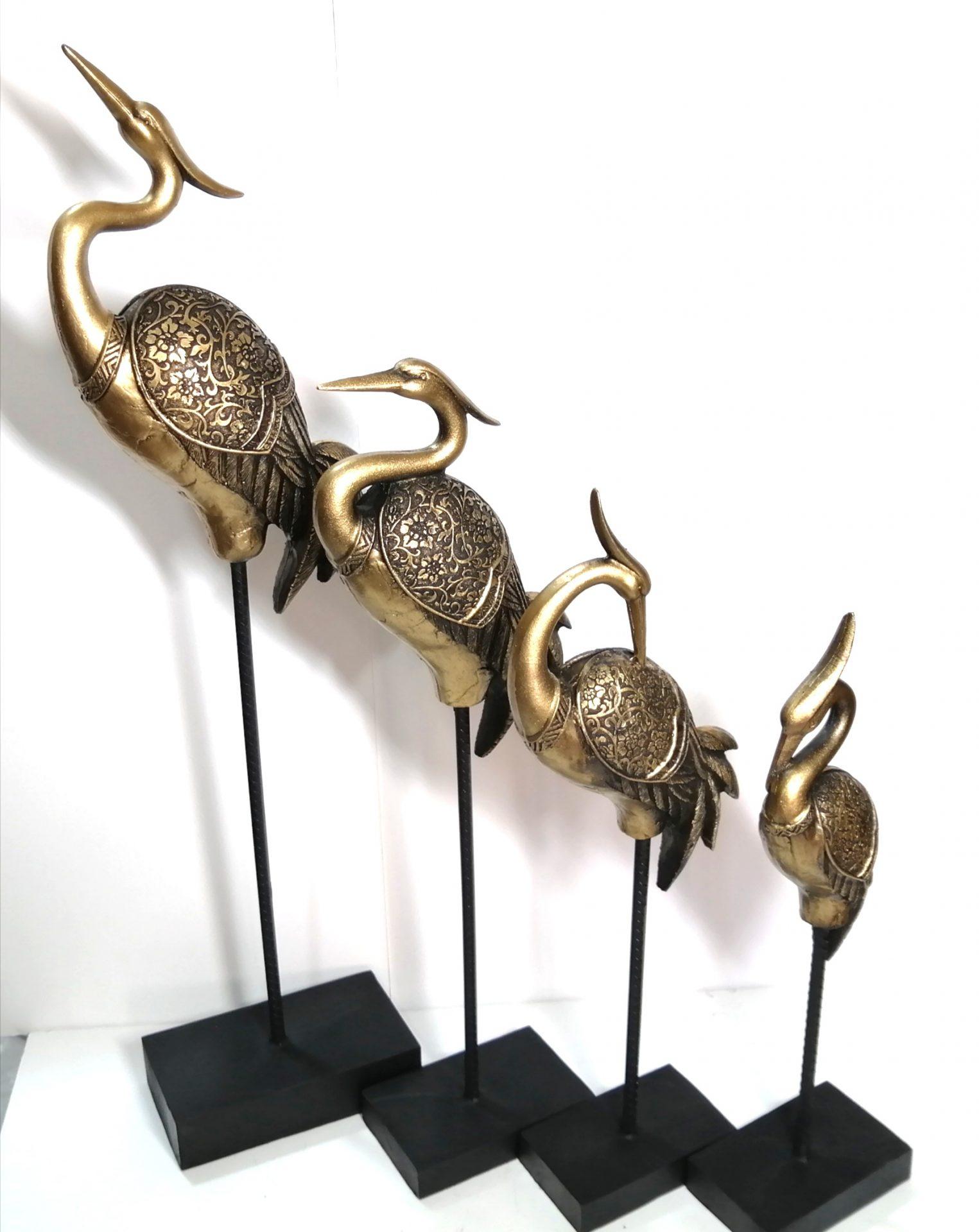 مجسمه پرنده های حواصیل