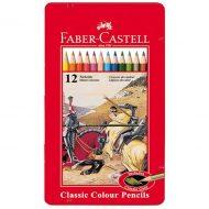 مداد رنگی 12 رنگ کلاسیک