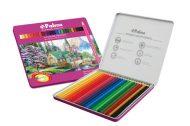 مداد رنگی 24 جلد فلزی پالمو