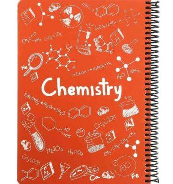 دفتر فرمول 100 برگ وزیری سیمی Chemistry پونیکس