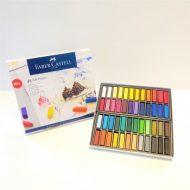 پاستل گچی 48 رنگ مدل Soft Pastels جلد مقوایی فابرکاستل کد 128248