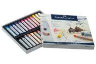 پاستل گچی 24 رنگ مدل Soft Pastels جلد مقوایی فابرکاستل کد 128324