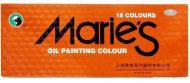 رنگ روغن 18 رنگ Maries - مدل کله اسبی