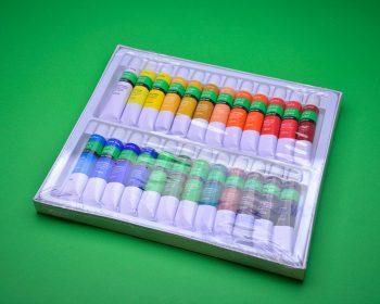 رنگ اکریلیک 24 رنگ بیسیک