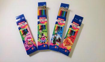 مداد رنگی 6 رنگ جلد مقوایی پارسی کار