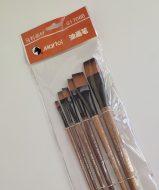 ست 6 عددی قلم موی تخت Martol