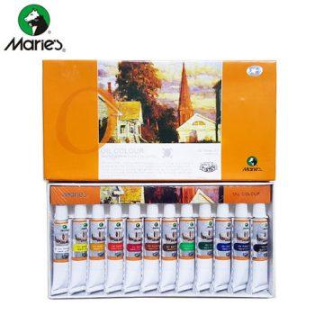 رنگ روغن 12 رنگ Mares - مدل کله اسبی