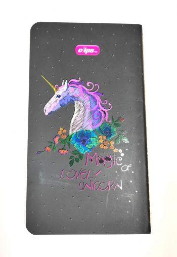 دفتر یادداشت کوکی کلیپس مدل Magic of LOVLY UNICORN کد 0650