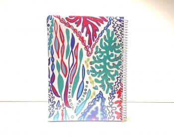 دفتر 100 برگ سیمی مجلد دوکا