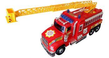 ماشین آتشنشانی بزرگ سلفونی Dorj Toy مدل Fire Truck